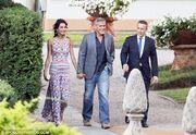 Το ρομαντικό δείπνο του Clooney και της Alamuddin
