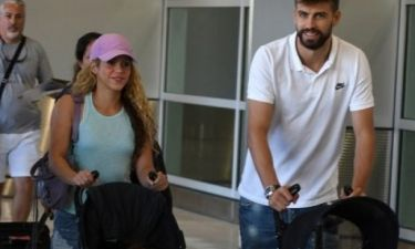 Η πιο… «normal» οικογένεια: Δείτε τις νέες φωτός της Shakira & του Pique και θα καταλάβετε