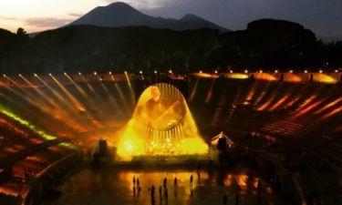 Οι ήχοι των Pink Floyd φέρνουν ξανά ζωή στην Αρχαία Πομπηία