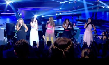 The X-Factor: Η Τάμτα με τα κορίτσια της στην σκηνή!