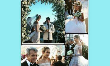 To άλμπουμ του γάμου εκατομμυρίων της Ana Beatriz Barros στη Μύκονο με τον Ελληνοαιγύπτιο κροίσο!