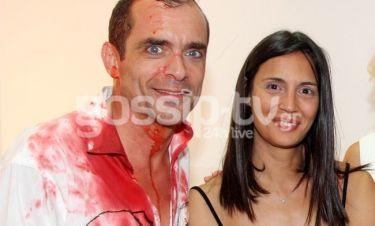 Κωνσταντίνος Μαρκουλάκης: Πρεμιέρα με την πρώην σύζυγό του στο πλευρό του