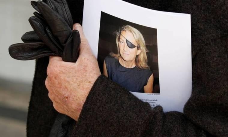 Η οικογένεια της Μαρί Κόλβιν μηνύει τη Συρία