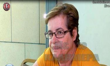 Η συγκίνηση της Γκολεμά on camera: «Δεν ήμουν εκεί όταν έφυγε η μητέρα μου να της πω αντίο»