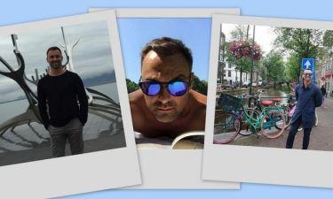 Γιώργος Καπουτζίδης: Ο γύρος του κόσμου σε... ένα καλοκαίρι! (φωτό)