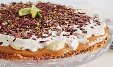 Η συνταγή του Σαββατοκύριακου: Μπανόφι με σοκολάτα και λαιμ