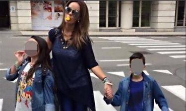 Ιωάννα Λίλη: Στις Βρυξέλλες με τα παιδιά
