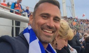 Γιώργος Καπουτζίδης: Ποζάρει με περηφάνια