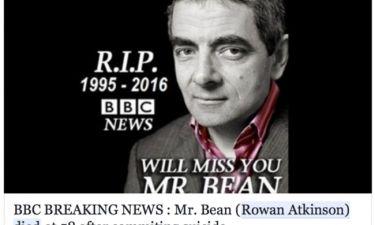 Σάλος με τον «θάνατο» του «Mr Bean». Χαμός στα social media και αναταραχή