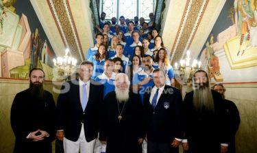 Με την ευχή του Αρχιεπισκόπου η Ολυμπιακή Ομάδα στο Ρίο