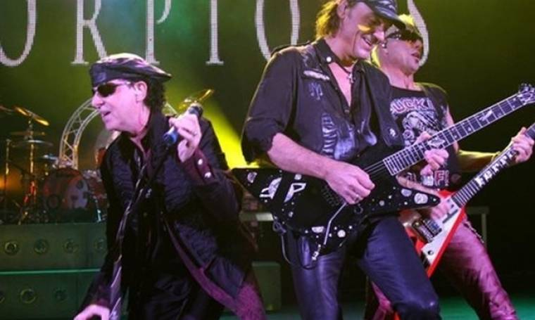 Στην Αθήνα οι Scorpions