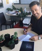 Και επίσημα ο Γιώργος Θεοφάνους στο «Junior music stars» - Έπεσαν οι υπογραφές