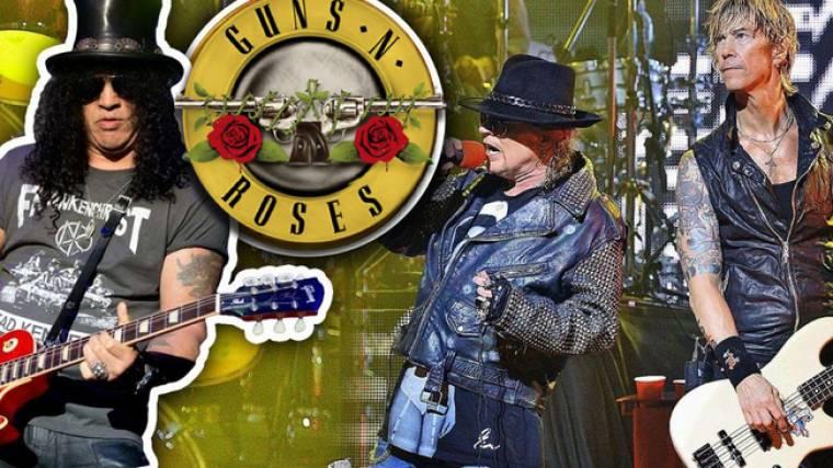Πυροβόλο όπλο βρέθηκε στο λεωφορείο των Guns n'Roses