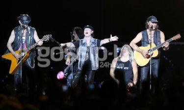 Η συναυλία των Scorpions στην πλατεία Νερού