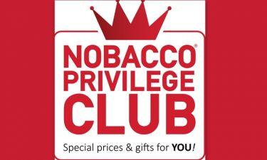 Προνόμια, δώρα και εκπλήξεις για τους πελάτες της NOBACCO