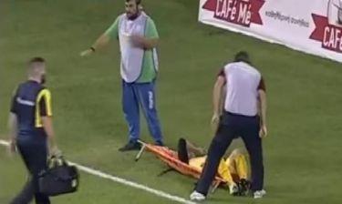 ΕΠΙΚΟ! Το… θύμα των τραυματιοφορέων της Λάρισας έγινε ο «λυτρωτής» του ΠΑΣ! (videos)