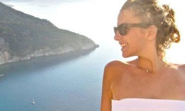 Αμαλία Αρσένη: Διακοπές στην Κεφαλλονιά