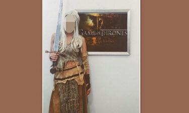 Δε πάει το μυαλό σας ποια Ελληνίδα παρουσιάστρια μεταμφιέστηκε σε Khaleesi από το «Game of thrones»