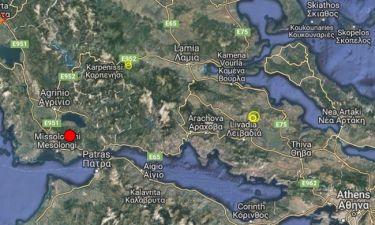 ΕΚΤΑΚΤΟ – Σεισμός στο Μεσολόγγι