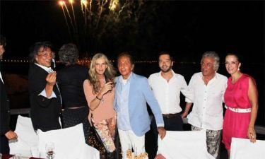 O Valentino και το πάρτι στην Αθήνα