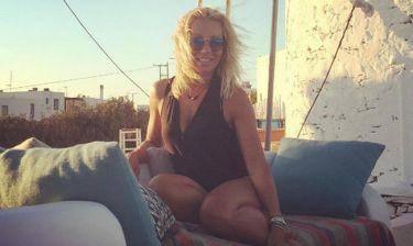 Η Έλενα Τσαβαλιά απολαμβάνει τις διακοπές της στα Κουφονήσια!