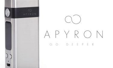 Το APYRON της NOBACCO είναι η καινοτομία στο ηλεκτρονικό τσιγάρο
