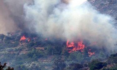 Μεγάλη φωτιά στην Κερατέα