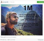 Πρωταγωνιστής του Μπρούσκο έχει φτάσει το ένα εκατομμύριο followers - Ξεπέρασε και τη Μενεγάκη