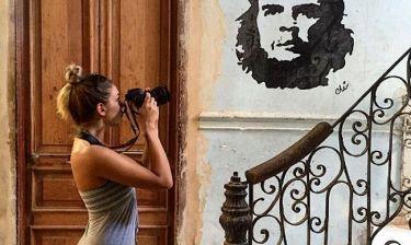 Ντένια Αγαλιανού: Το ταξίδι της στη Κούβα