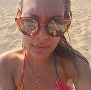 Αμέλια Αναστασάκη: Η selfie στην παραλία χωρίς ρετούς