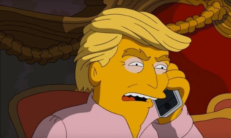 Οι Simpsons, ο Τραμπ και ο Αδόλφος Χίτλερ