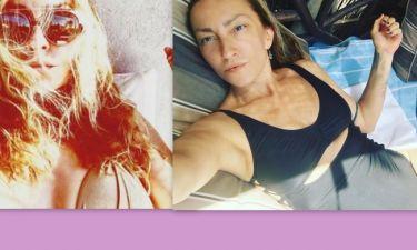 Η Ρούλα Ρέβη με μαγιό και δίχως φίλτρα εννέα μήνες μετά τον ερχομό των διδύμων