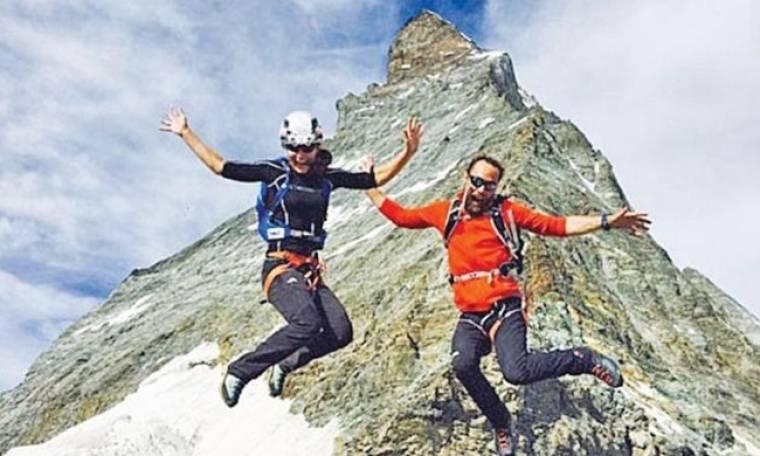 Η Pippa Middleton σκαρφάλωσε και στην κορυφή των Άλπεων!