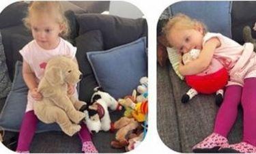 Η φωτογραφία της κόρης της, που κάνει θραύση στο facebook!