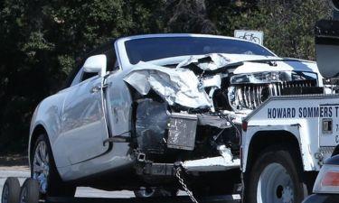 Τροχαίο ατύχημα για την Kris Jenner. Τράκαρε την Rolls Royce της και έσπασε τον καρπό της