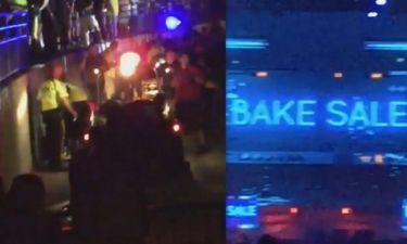 Παραλίγο τραγωδία σε συναυλία διάσημου τραγουδιστή όταν κατέρρευσε η οροφή-42 οι τραυματίες!