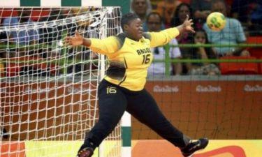 Ρίο 2016: Πιάνει… όλο το τέρμα η τερματοφύλακας της Αγκόλα! (photo)