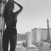 Αθηνά Οικονομάκου: Απόλαυσε τη θέα στο Las Vegas με τα εσώρουχα και έριξε το Instagram (φωτό)