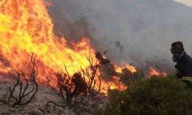 ΤΩΡΑ: Φωτιά στην Αιτωλοακαρνανία
