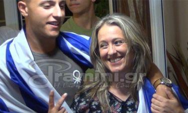Άννα Κορακάκη: Έξαλλoι πανηγυρισμοί στο σπίτι της στην Δράμα