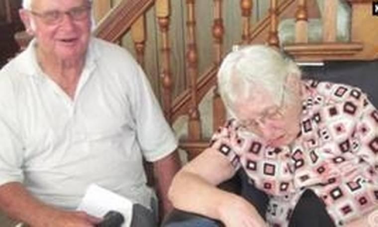 Ήταν παντρεμένοι 63 χρόνια και πέθαναν στο ίδιο δωμάτιο με διαφορά λίγων λεπτών