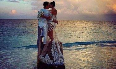 Ο παραμυθένιος γάμος γνωστού μοντέλου - Οι πρώτες φωτογραφίες από το μυστήριο