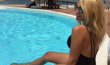 Η Κωνσταντίνα Σπυροπούλου στα Χανιά και η φωτό της χωρίς φίλτρα
