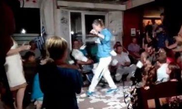 H Άννα Κορακάκη χόρεψε το ζεϊμπέκικο της Ευδοκίας