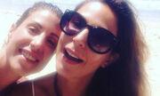 Κατερίνα Παπουτσάκη: Άβαφη και χαμογελαστή στη Δονούσα