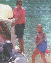 Διακοπές στο Ιόνιο για Μενεγάκη-Παντζόπουλο
