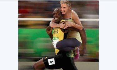 Ellen DeGeneres :Η «ρατσιστική» φώτο με τον Bolt στο twitter, προκάλεσε αντιδράσεις