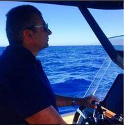 Ο  καπετάνιος Γιώργος «αλωνίζει» στο Αιγαίο