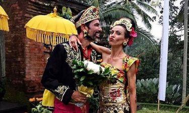 Μαρινάκης-Καλπάκη: Το υπέροχο φωτογραφικό άλμπουμ τους από το μαγευτικό ταξίδι του μέλιτος στο Μπαλί