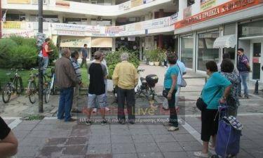 Σοκ: Βουτιά στο κενό από νεαρή κοπέλα στην Καρδίτσα (pics)